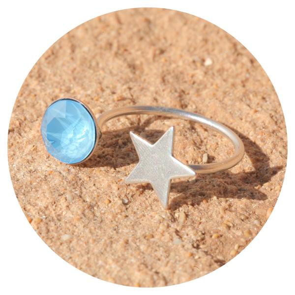 artjany Ring summer blue | artjany - Kunstjuwelen