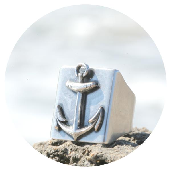 artjany ring anchor | artjany - Kunstjuwelen