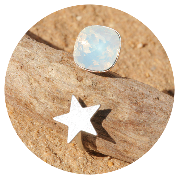 artjany ring white opal silver | artjany - Kunstjuwelen
