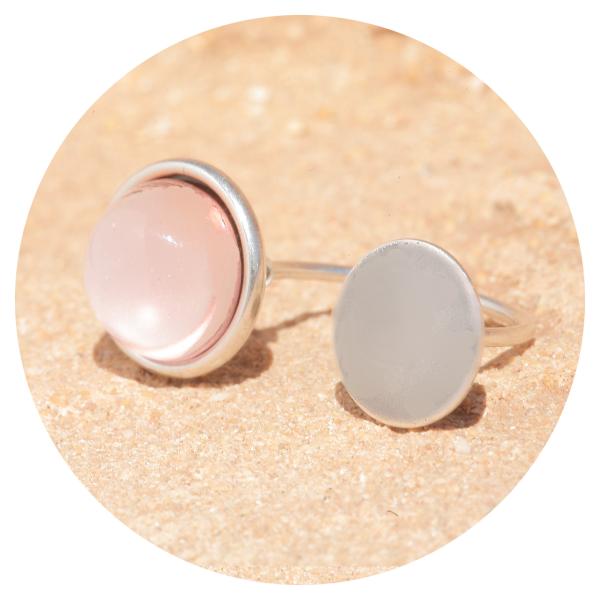 artjany ring silver rose | artjany - Kunstjuwelen