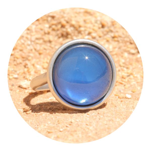 artjany ring silk blue | artjany - Kunstjuwelen