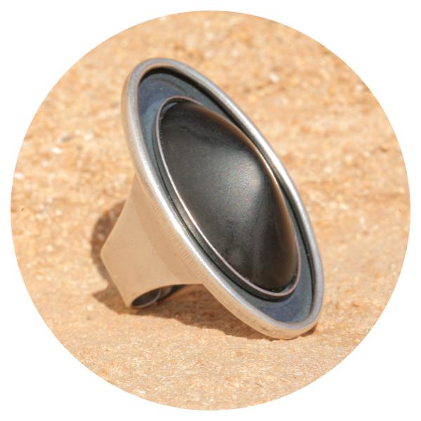 artjany ring blackjet | artjany - Kunstjuwelen