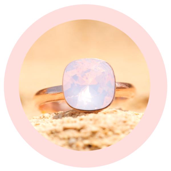 artjany Ring rose water opal | artjany - Kunstjuwelen
