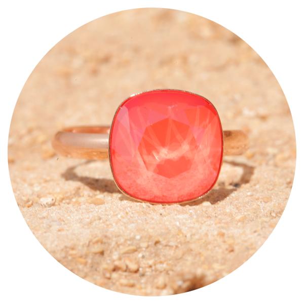 artjany Ring light coral | artjany - Kunstjuwelen