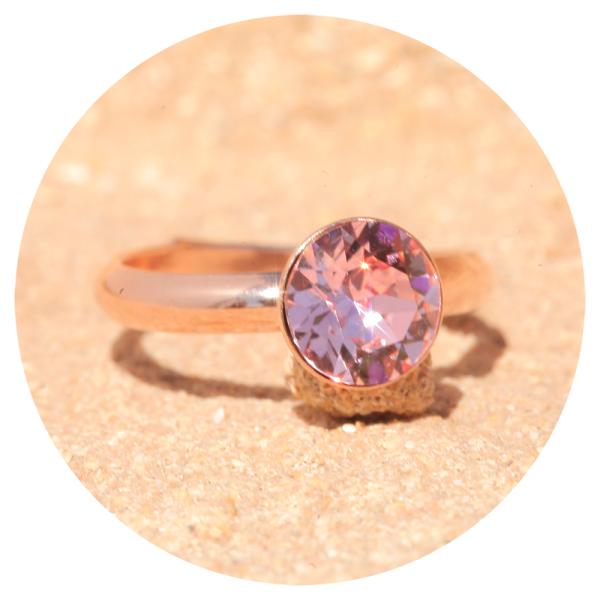 artjany Ring light rose rose gold | artjany - Kunstjuwelen