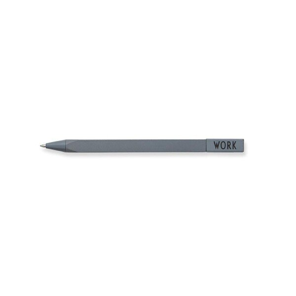Design Letters Gray Work Pen   Papperlapapp