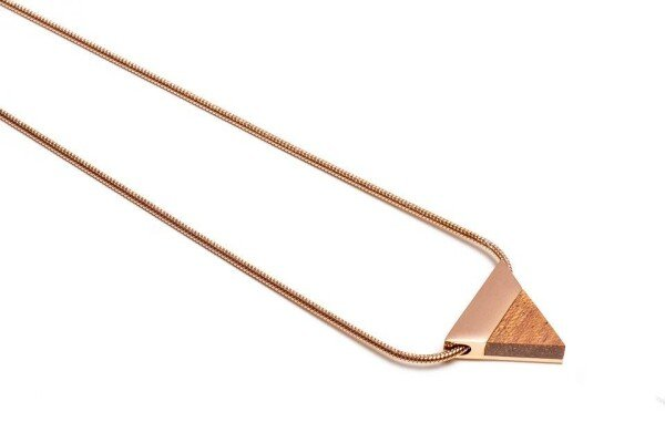 BeWooden Rea necklace triangle   BeWooden GmbH