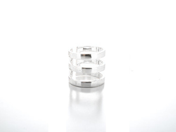 Ring 3 Stripes Silver | HLC Jewellery