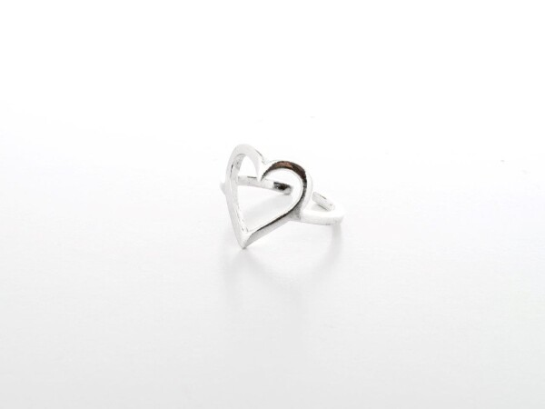 Ring of love silver | HLC Jewellery
