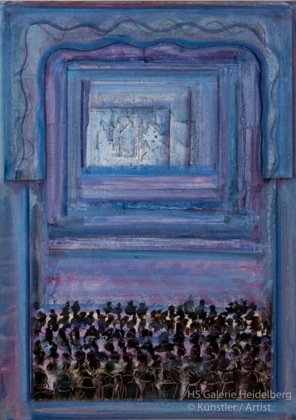 Blue Theatre | HS Kunst-Galerie