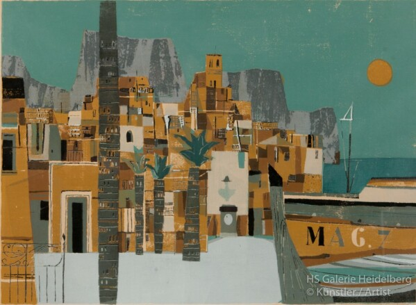 Harbour City in North Africa | HS Kunst-Galerie