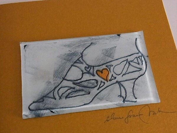 Artist Card Shoe with Heart Edition | Design Elena