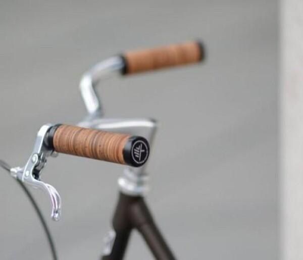 Birch bark grips BBU 1 long / long | Maßrad Köln GmbH