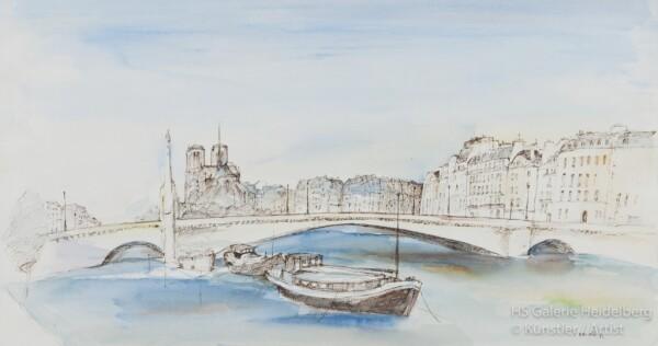 Paris bridge | HS Kunst-Galerie