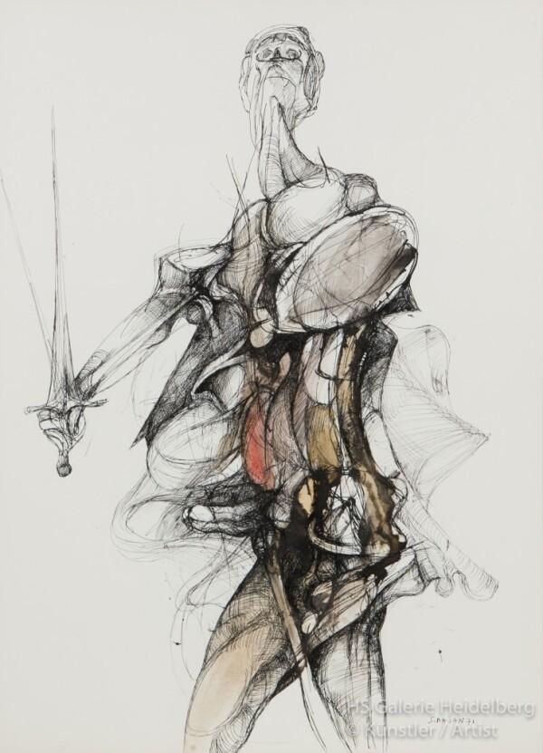Proud Warrior | HS Kunst-Galerie