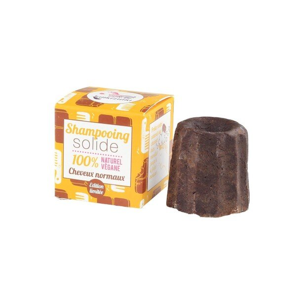 Solid shampoo chocolate - for normal hair | Naturprodukte Fritz