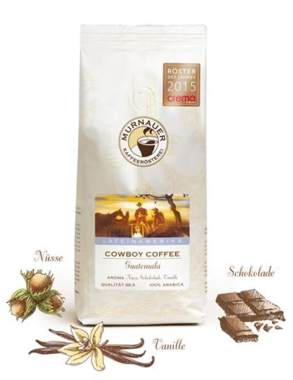 Murnauer Kaffeerösterei - Cowboy Coffee - Guatemala - 250gr - Ganze Bohne | Murnauer Kaffeeroesterei