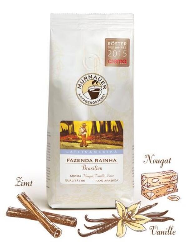 Murnauer Kaffeerösterei - Fazenda Rainha - Brasilien - 250gr - Ganze Bohne | Murnauer Kaffeeroesterei
