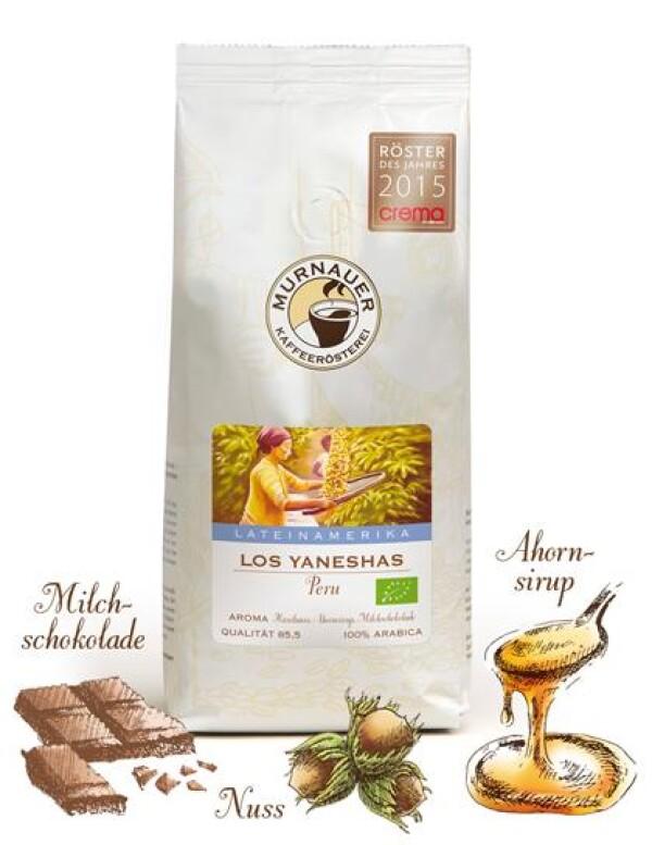 Murnauer Kaffeerösterei - Yanesha - Peru - 1000gr - Ganze Bohne | Murnauer Kaffeeroesterei