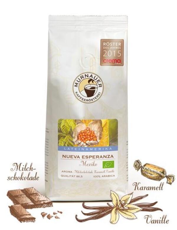 Murnauer Kaffeerösterei - Nueva Esperanza - Mexiko - 1000gr - Ganze Bohne   Murnauer Kaffeeroesterei