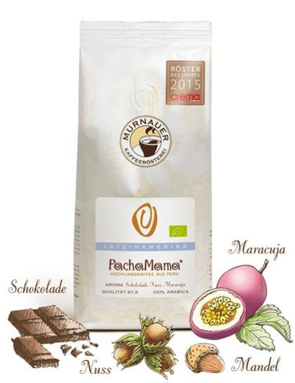 Murnauer Kaffeerösterei - Pacha Mama - Peru - 1000gr - Ganze Bohne   Murnauer Kaffeeroesterei