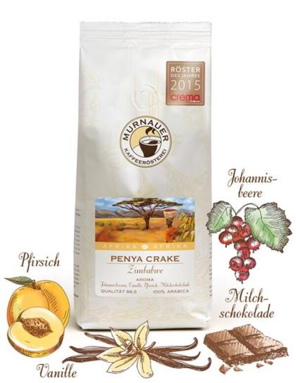 Murnauer Kaffeerösterei - Penya Crake - Zimbabwe - 1000gr - Ganze Bohne   Murnauer Kaffeeroesterei