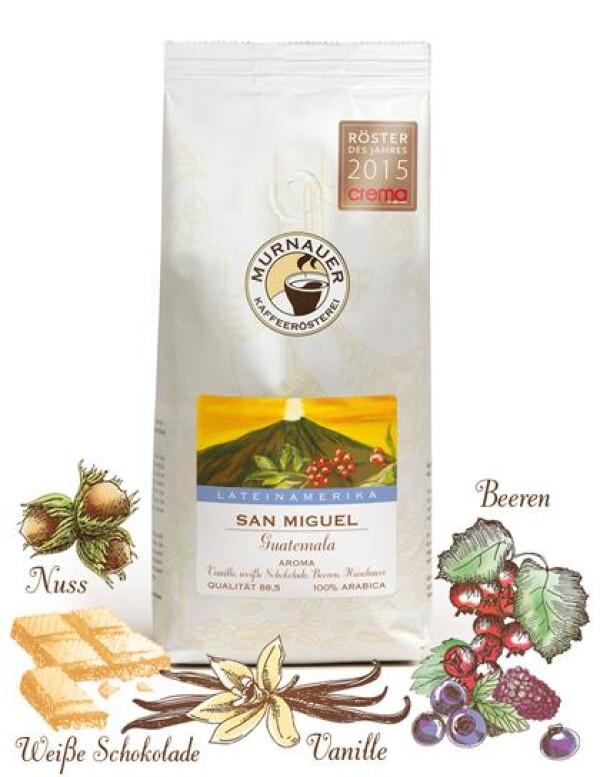 Murnauer Kaffeerösterei - San Miguel - Guatemala - 1000gr - Ganze Bohne | Murnauer Kaffeeroesterei