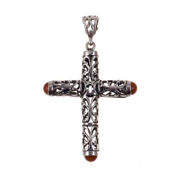 Silver pendant - Cross | BalticBuy