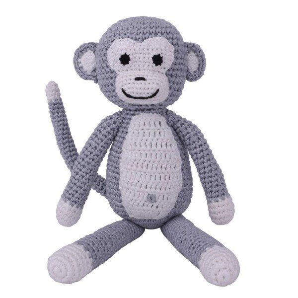 Cuddly monkey grey | Murmelwald