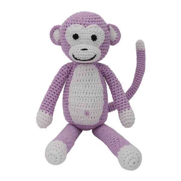 Cuddly monkey pink | Murmelwald