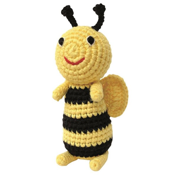 Rattle bee crochet | Murmelwald