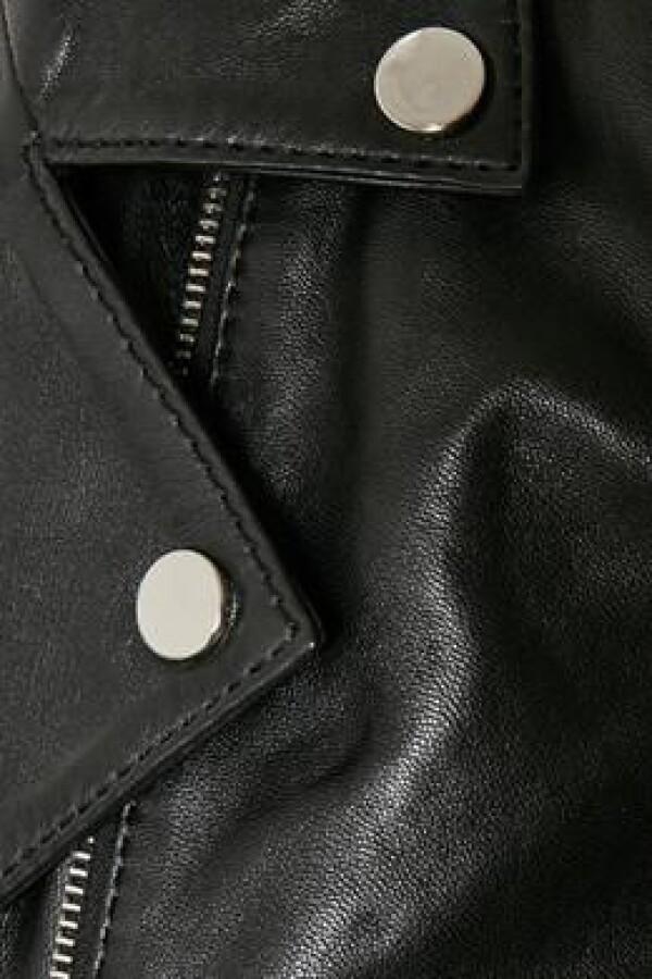 Soaked in Luxury Biker Jacket in black   Luissa goes shopping