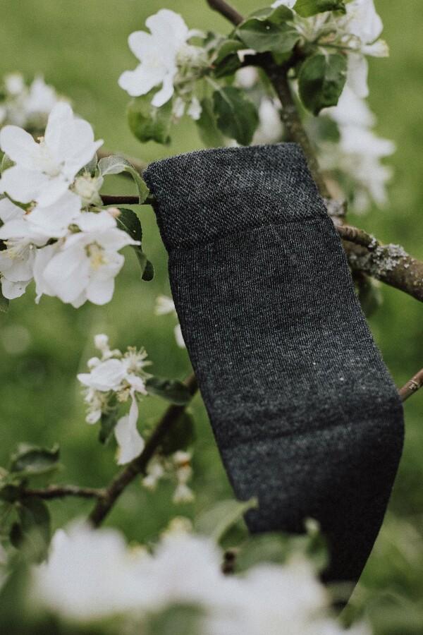 SOCKINGER BUSINESS long SOCK in gray | Sockinger-Die Sockenmanufaktur