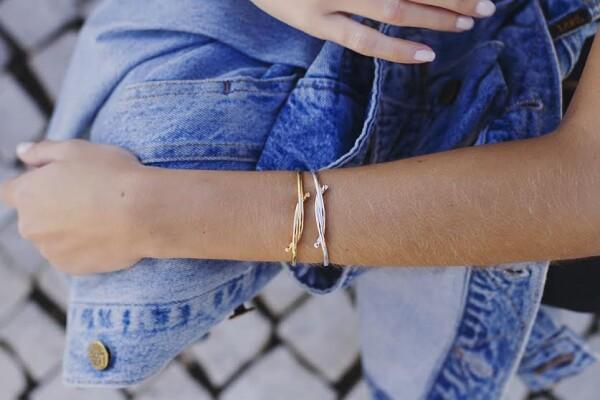 Bracelet Soft Knot Silver | HLC Jewellery