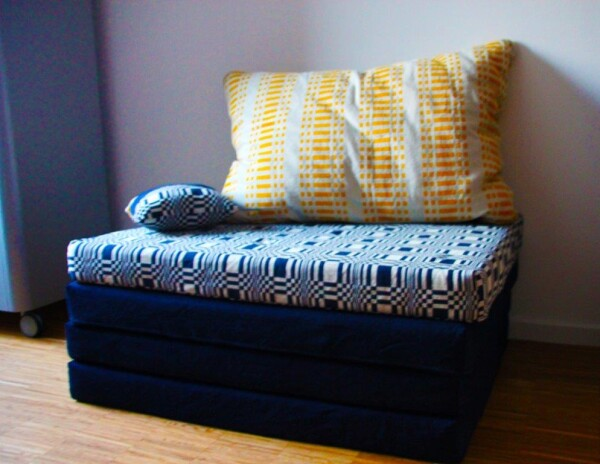 Armchair / day bed / guest bed | ADAM PILLOWS