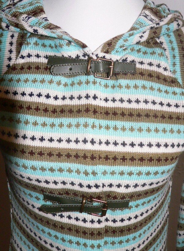 Striped knit coat | Eva Brachten Modedesign