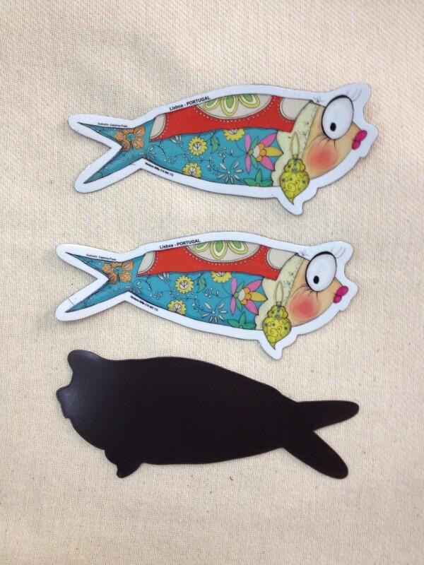 Catarina sardine magnet | Loja PortugueZa da Baixa