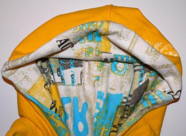 Sweatshirt yellow size 36/38   Eva Brachten Modedesign