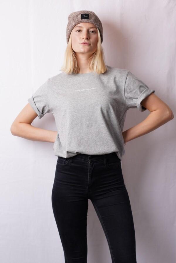 Heavy t-shirt gray | mittwochnachmittag