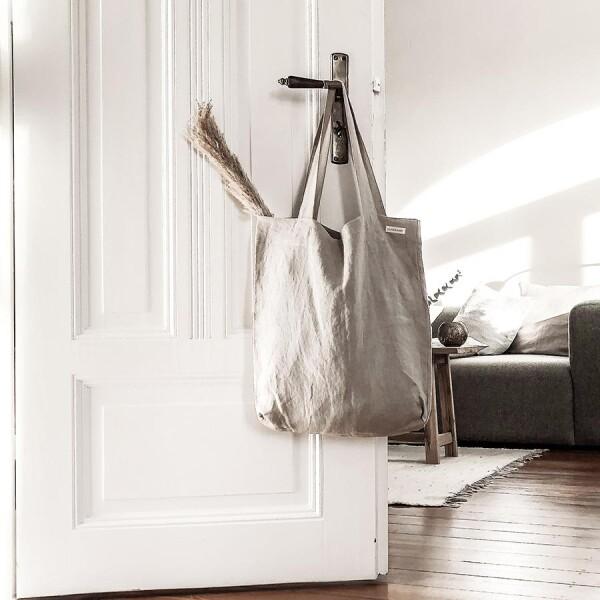 Linen bag Smilla beige - Lundkvist | Lundkvist Home & Living