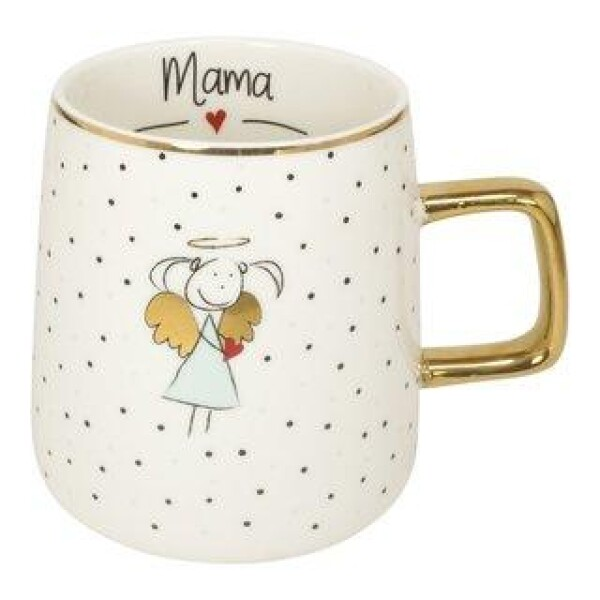 Mama cup with golden handle MEA LIVING | WohnGlanzVilla