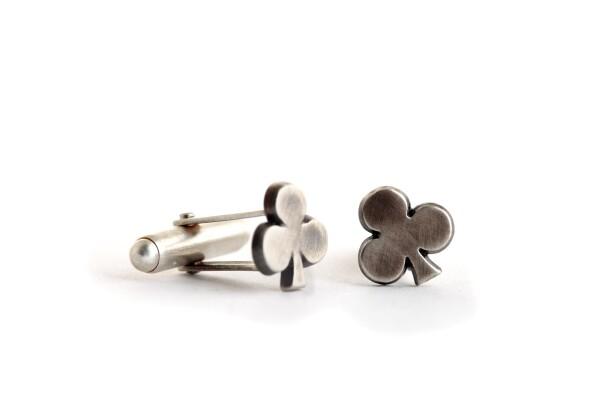 Clover Leaf Cufflinks | TomerM Jewelry