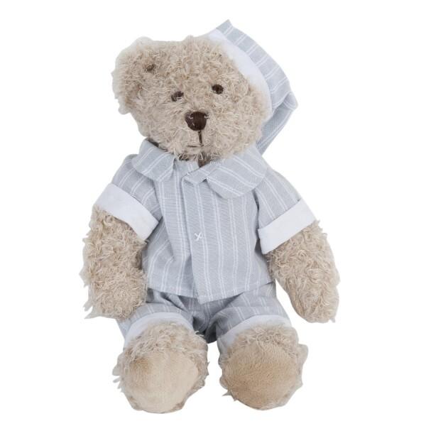Clayre & Eef Bear Teddy pink knit DUPLICATE   WohnGlanzVilla