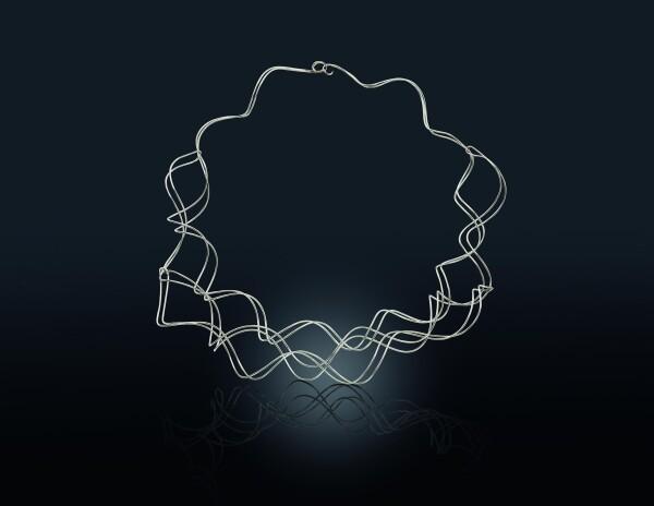 TWIRL silver necklace | BIEGEL Goldschmiede & Juwelier