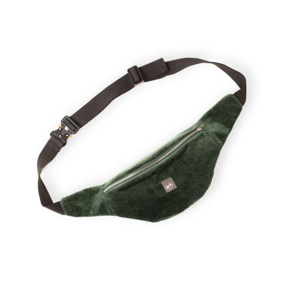 Limited special edition - hip bag in dark green | soki Kassel