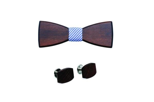 BeWooden Virilem wood bow tie | BeWooden GmbH