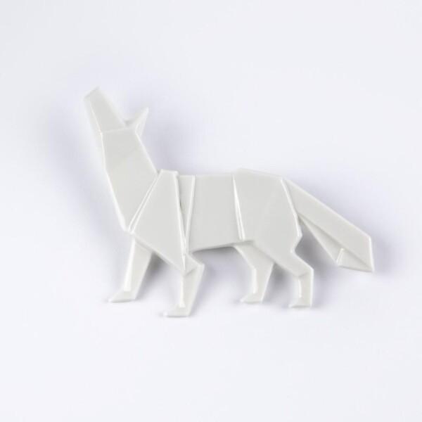 Wolf brooch Kami | FashionShop PARAZIT
