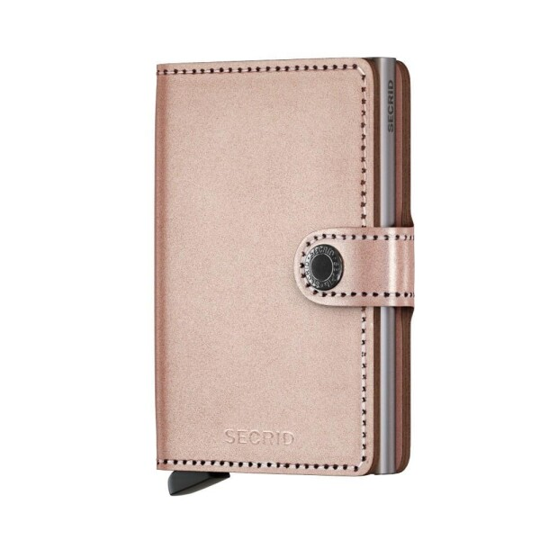 SECRID Miniwallet Metallic Rose | LAMARI BERLIN