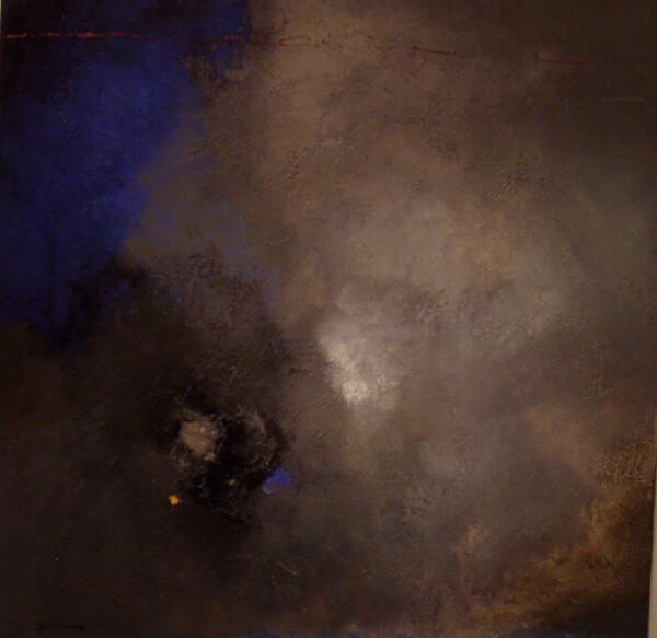 Franck Duminil - abstract blue   HS Kunst-Galerie
