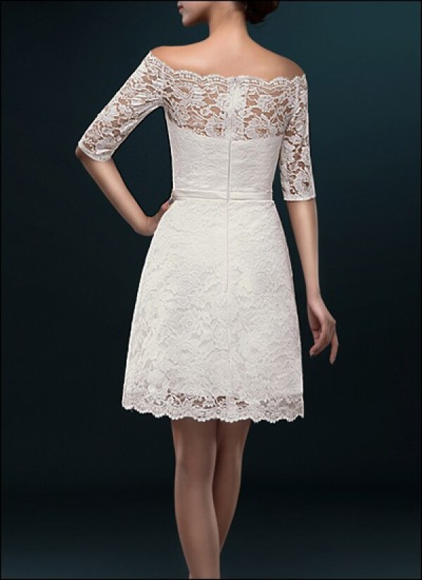 Case wedding dress of registry with sleeves | Lafanta | Abend- und Brautmode